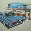 1960 Ford Thunderbird  by Jonathan Reed