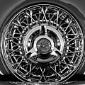 1960 Ford Thunderbird Spare Tire 2 by Jill Reger