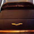 1961 Aston Martin Db4 Coupe Emblem by Jill Reger
