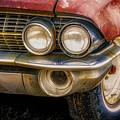 1961 Cadillac Headlight by Jerry Fornarotto