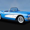 1961 Chevrolet C1 Corvette   -   61vettecv800 by Frank J Benz