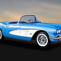 1961 Chevrolet C1 Corvette Convertible   -   61vette700 by Frank J Benz