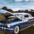 1951 Mercury Classic Car Photograph 005.02 by M K  Miller
