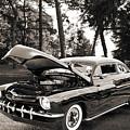 1951 Mercury Classic Car Photograph 006.01 by M K  Miller