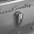 1961 Rambler Emblem B And W by Nick Gray