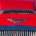 1962 Austin Healey 3000 Mk II Hood Emblem -0324c by Jill Reger