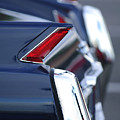 1962 Cadillac Deville Taillights by Jill Reger