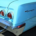 1962 Chevy - Chevrolet Biscayne Logos And Tail Lights by WHBPhotography Wallace Breedlove