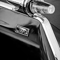 1962 Chrysler Imperial Crown Taillight -0551bw by Jill Reger
