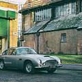 1963 Aston Martin Db5 by Tim Gainey