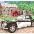 1963 Austin And Sudbury Mill by Jack Pumphrey
