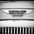 1963 Austin-healey 3000 Mk II Black And White by Jill Reger