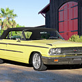 1963 Ford Galaxie 500 Xl Convertible by Dave Koontz