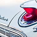1963 Mercury Meteor Taillight Emblem by Jill Reger