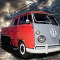 1963 Volkswagen Double Cab Truck by Nick Gray