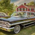 1964 Ford Galaxie 500 Xl by Susan Rissi Tregoning