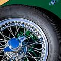 1964 Morgan 44 Spare Tire by Jill Reger