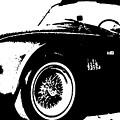 1964 Shelby Cobra Sketch by R Muirhead Art