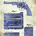 1964 Smith And Wesson Gun Patent Two Tone by Jon Neidert