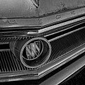 1965 Buick Hood Ornament B And W by Nick Gray