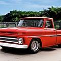 1965 Chevrolet 3100 Pickup I by Dave Koontz