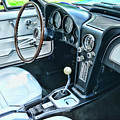 1965 Corvette Inside The Cockpit by Paul Ward