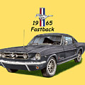 Mustang Fastback 1965 by Jack Pumphrey