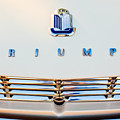 1965 Triumph Tr-4 Hood Ornament by Jill Reger
