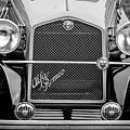 1966 Alfa Romeo Quattro Route 4r -0134bw by Jill Reger