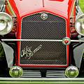 1966 Alfa Romeo Quattro Route 4r Grille by Jill Reger