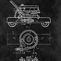 1966 Lawn Mower Patent Image by Dan Sproul