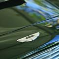 1967 Aston Martin Db6 Coupe Hood Emblem by Jill Reger