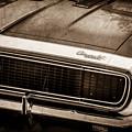 1967 Chevrolet Camaro Ss350 Convertible Grille Emblem -0704s by Jill Reger