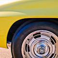 1967 Chevrolet Corvette Sport Coupe Rear Wheel by Jill Reger