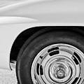 1967 Chevrolet Corvette Wheel -295bw by Jill Reger
