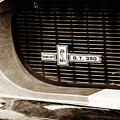 1967 Ford Gt 350 Shelby Clone Grille Emblem -0759s by Jill Reger