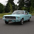 1967 Ford Mustang Watts by Mobile Event Photo Car Show Photography