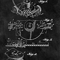 1967 Lawn Mower Patent Illustration by Dan Sproul