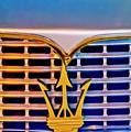 1967 Maserati Sebring Coupe Emblem by Jill Reger