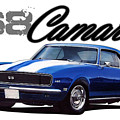 1968 Camaro by Paul Kuras