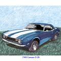 1968 Chevrolet Camaro Z 28 by Jack Pumphrey