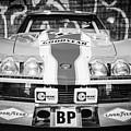 1968 Chevrolet Corvette L88 Red-nart Le Mans -0078bw by Jill Reger