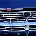 1968 Chevrolet Impala Ss Grille Emblem by Jill Reger