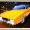 1968 Dodge Charger Coupe by Scott Wallace Digital Designs