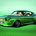 1968 Ford Mustang Fastback II by Dave Koontz