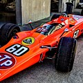 1968 Lotus 56 Turbine Indy Car #60 Angle by Josh Williams