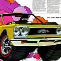 1968 Plymouth Gtx - Adios by Digital Repro Depot