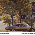 1968 Pontiac Gto - Woodward - The Great One By Pontiac by Digital Repro Depot