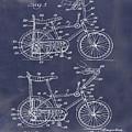 1968 Schwinn Stingray Patent In Blueprint by Bill Cannon