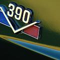 1969 AMX 390 American Motors Emblem by Jill Reger